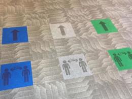 Heckmondwike Launch Social Distancing Carpet Tiles