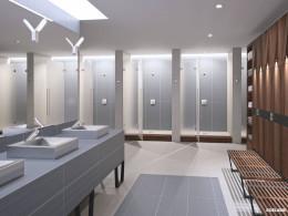 Redefining design in commercial washrooms.